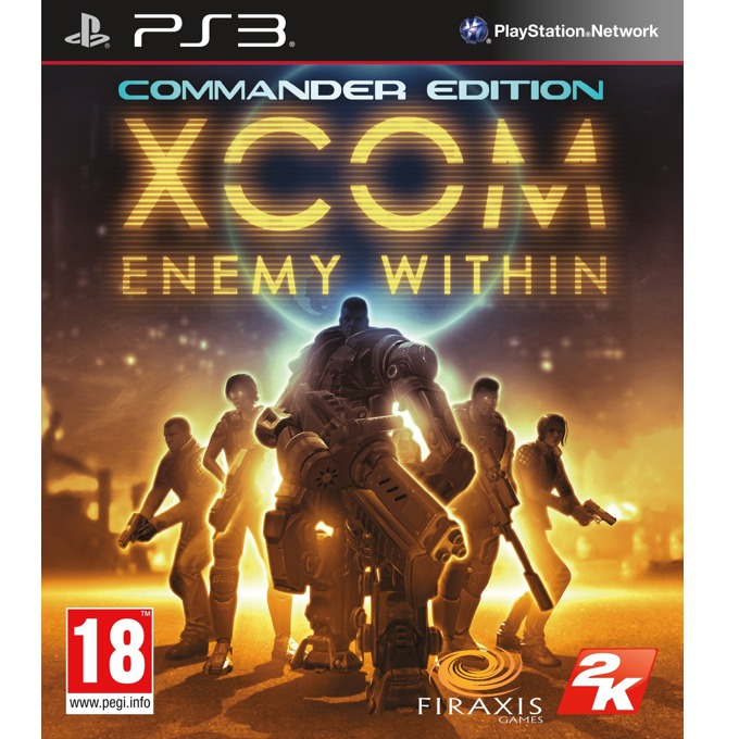 Игра за конзола XCOM: Enemy Within - Commander Eiditon, за PS3 image