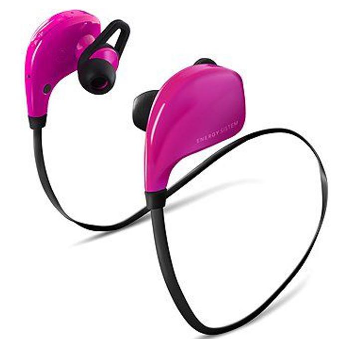 Слушалки Energy BT Sport Pink, Bluetooth V4.0, микрофон, USB, розови image