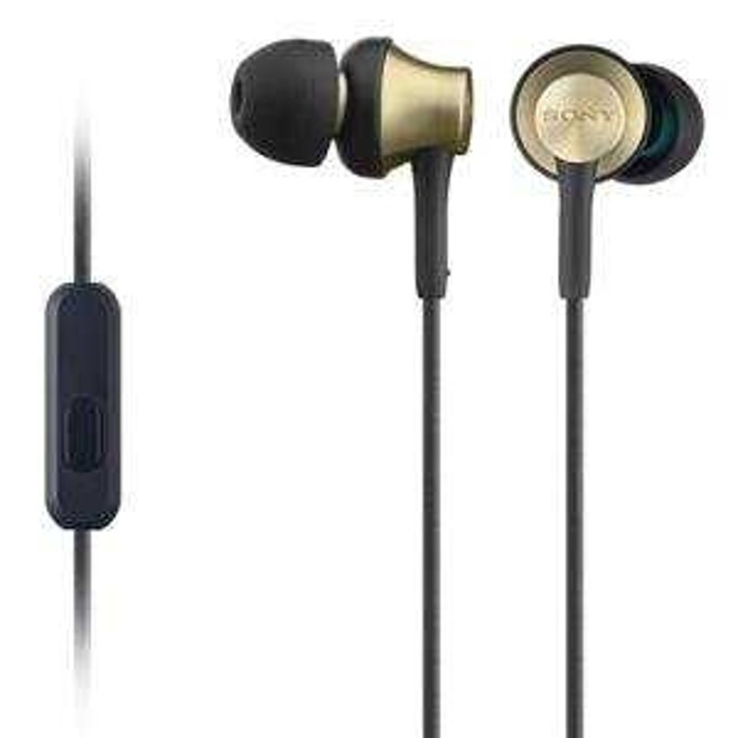 Слушалки Sony MDR-EX650AP, кафяви image