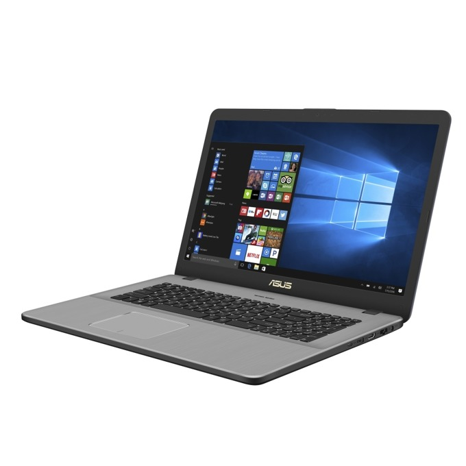 "Лаптоп Asus VivoBook Pro 17 N705FD-GC012 (90NB0JN1-M01060)(сив), четириядрен Whiskey Lake Intel Core i7-8565U 1.8/4.6 GHz, 17.3"" (43.94 cm) Full HD Anti-Glare Display & GF GTX 1050 4GB, (HDMI), 8GB DDR4, 1TB HDD & 256GB SSD, ENDLESS OS  image"