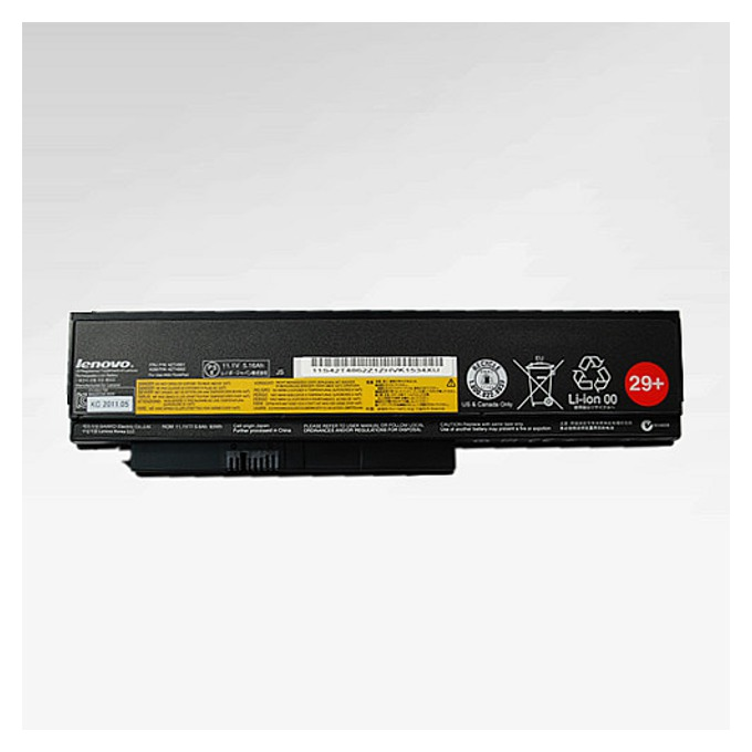 Батерия (оригинална) Lenovo ThinkPad X220, съвместима с X220i/X220s/X230, 6cell, 11.1V, 5600mAh  image