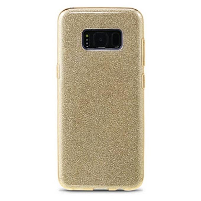 Протектор Remax Glitter, за Samsung Galaxy S8 Plus, TPU, златист image