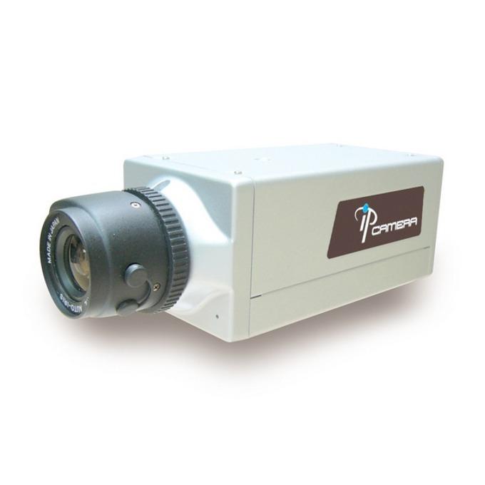 """IP камера Hunt HLC-81AD/ICRN, насочена """"bullet"""", 2 Mpix(1600x1200@15FPS), без обектив, H.264/MJPEG, IR осветеност (до 20 метра), PoE, безжична 802.11b/g, RJ-45 image"""