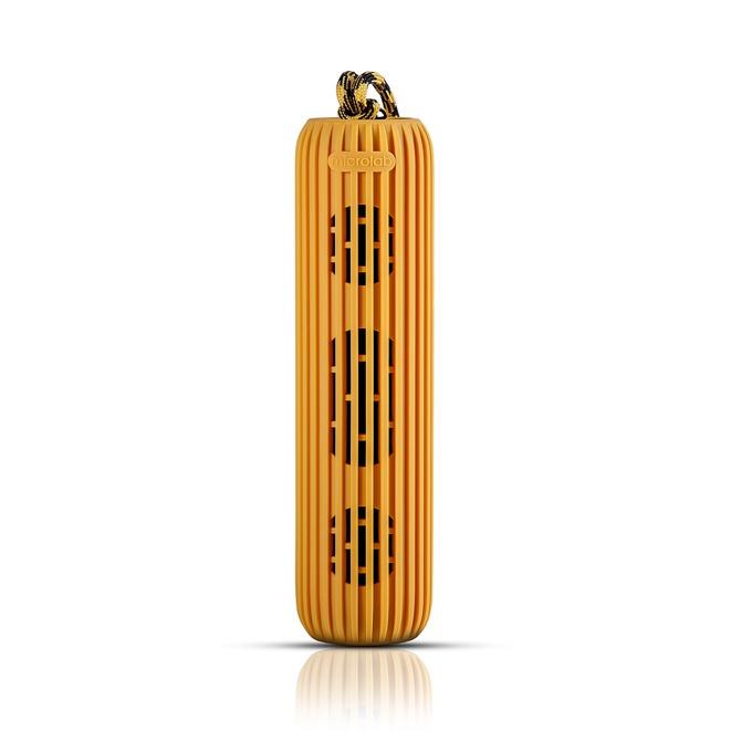 Тонколона Microlab D21, 1.0, 7W (2x 3.5W), Bluetooth 4.0, microSD слот, оранжева, вграден микрофон image