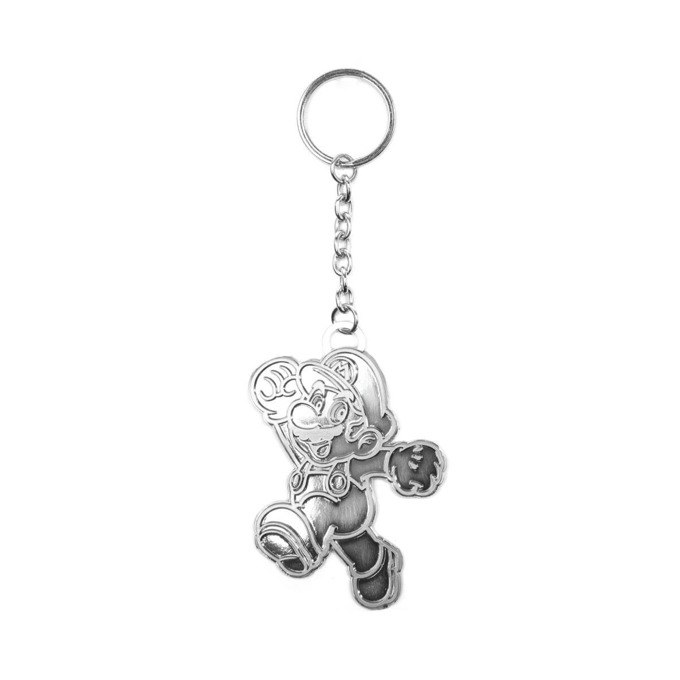 Ключодържател Bioworld Nintendo Mario silver image
