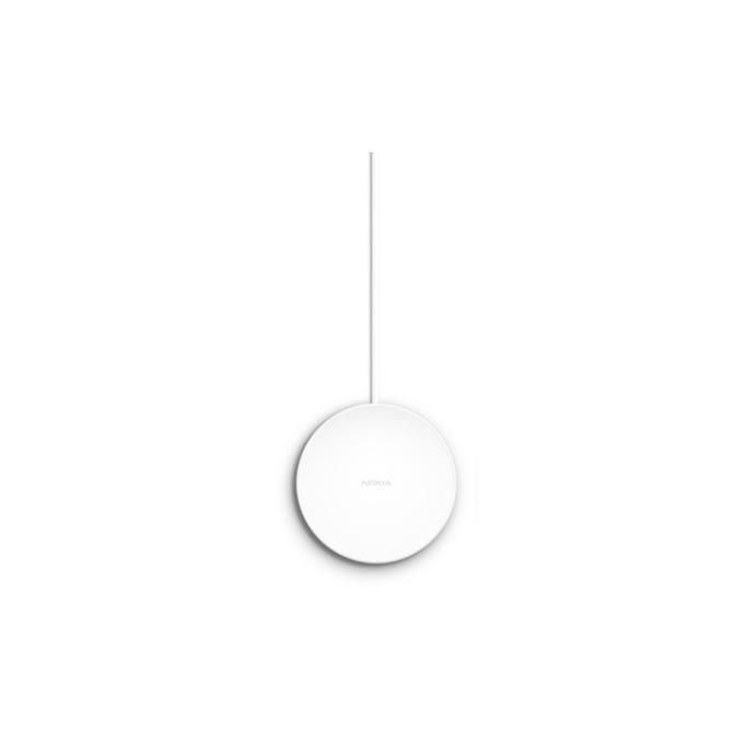 Безжично зареждане Nokia Induction Wireless Charging Pad DT-601 - пад (поставка) за QI съвместими смартфони (бял) image