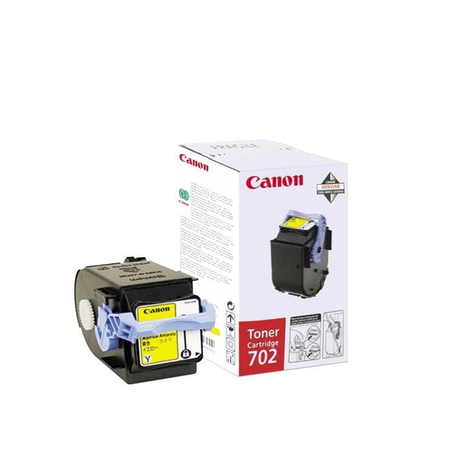 КАСЕТА ЗА CANON LBP 5960 - Yellow - P№ EP-702Y - CR9642A004AA - заб.: 6000k image
