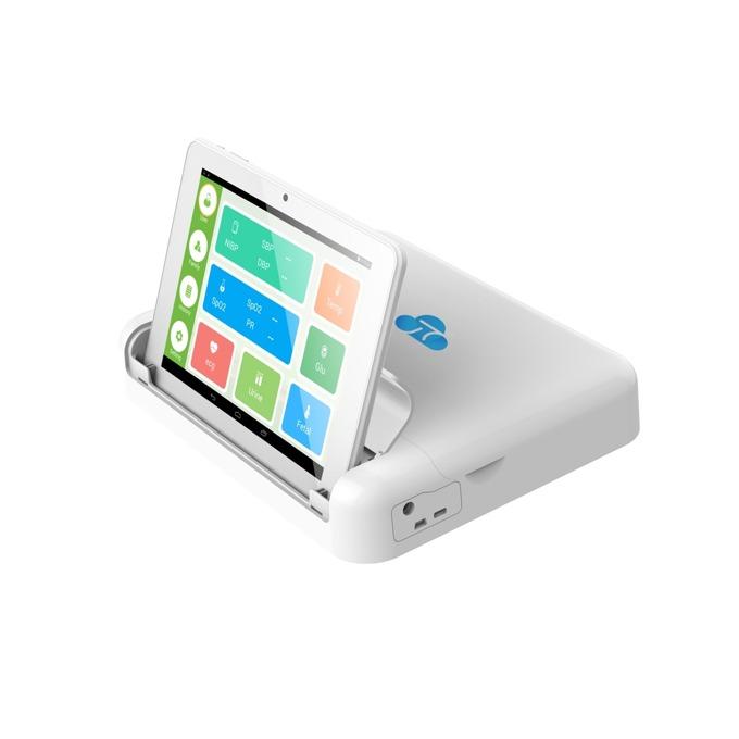 Домашен медицински анализатор ZTE H8P, Bluetooth, Wi-Fi, 2G/3G/4G, Ethernet Port, USB, SIM слот, измерва различни физиологични параметри на човешкото тяло image