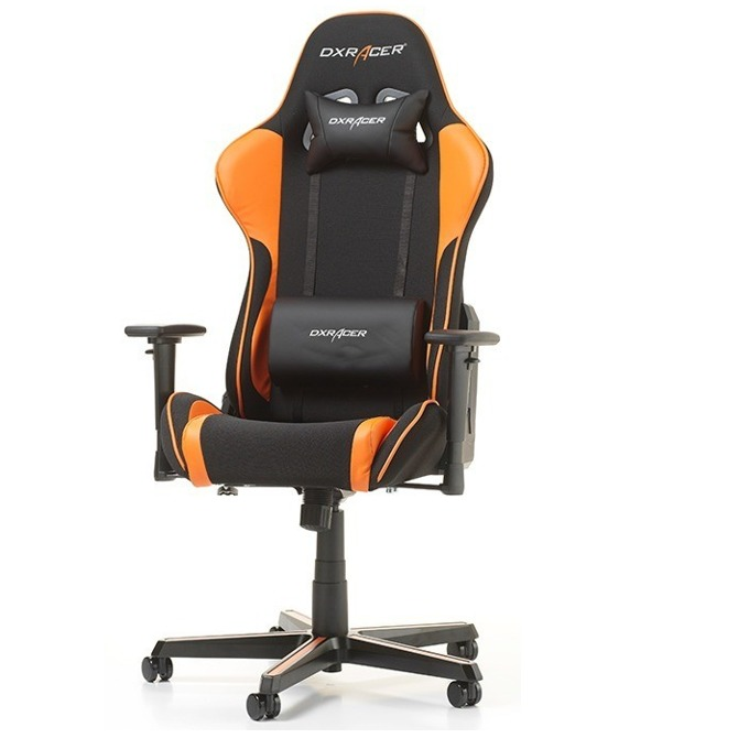 Геймърски стол DXRacer Formula OH/FH11/NO, черен/оранжев image