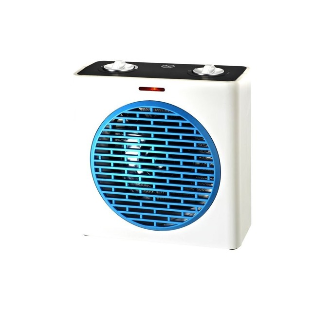 Вентилаторна печка Finlux FCH-555, 2 степени на мощност, защита от прегряване, термостат, 2000W, бяла image