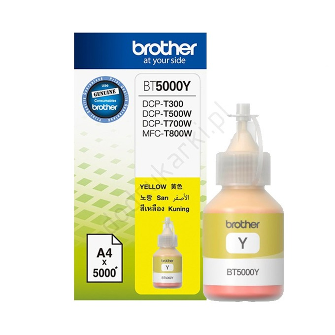 BROTHER Yellow BT5000Y