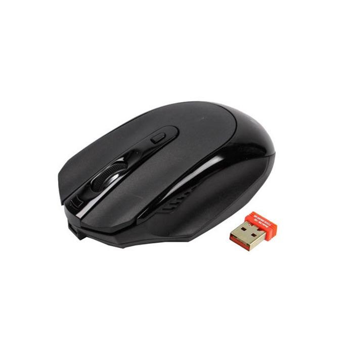 Мишка A4tech G11-580FX-1, безжична, черна, вградена литиева батерия image