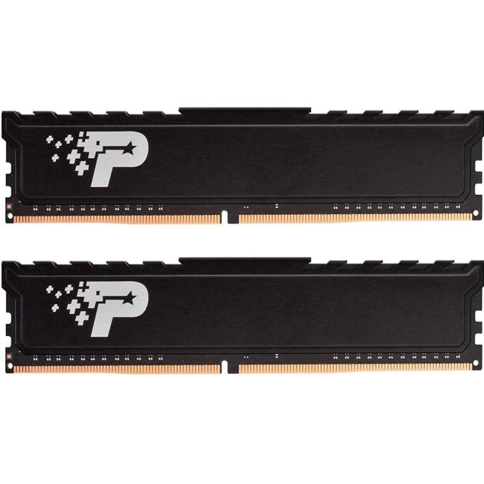 Памет 16GB(2x8GB) DDR4, 2400MHz, Patriot Premium Signature PSP416G2400KH1, 1.2V image