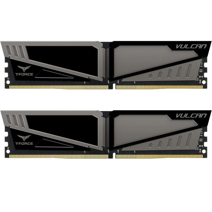 8GB (2x4GB) DDR4 2666MHz, Team Group T-Force Vulcan, TLGD48G2666HC15BDC01, 1.2V image