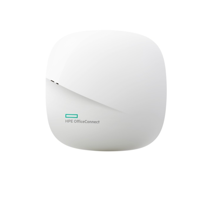 Access point/Аксес пойнт HPE OC20 JZ074A, 802.11ac, 2.4GHz up to 400 Mbps, 5GHz up to 867 Mbps, 2x2:2, dual radio, integrated antenna, 1x 10/100/1000BASE-T Ethernet(RJ-45) image