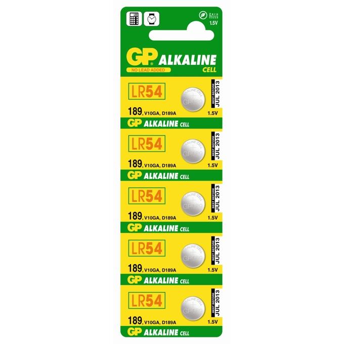 Батерии алкални GP LR54 1.5V 1 бр