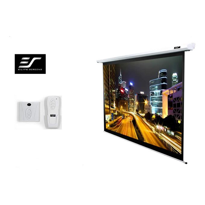 Elite Screen ELECTRIC84V 84 White