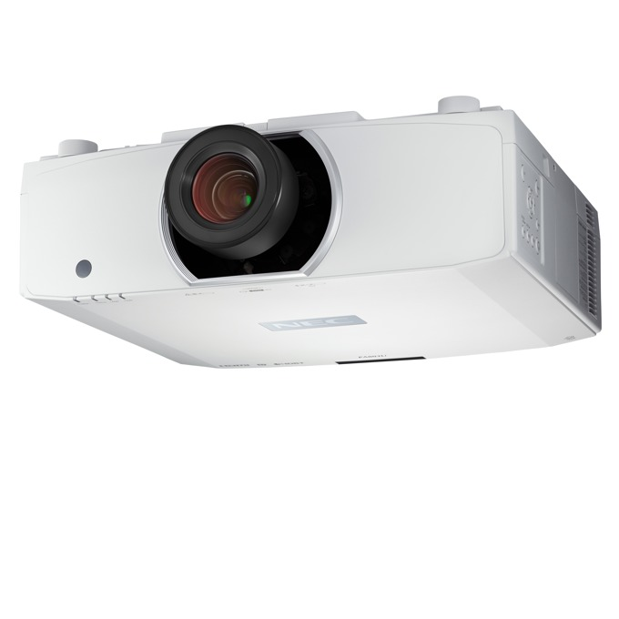 Проектор NEC PA853W, LCD, WXGA (1280x800), 10000:1, 8500 lm, VGA, HDMI, DisplayPort, HDBaseT image