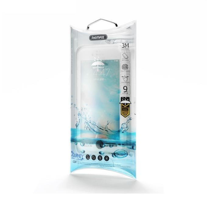 Калъф Apple iPhone 7/7S, страничен протектор с гръб, термополиуретанов, Remax Journey, бял image