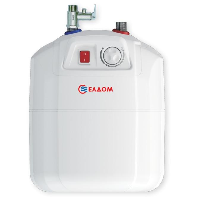 Електрически бойлер Елдом WV08039E 80L, 6 л., под мивка, мощност 1.5kW, енергиен клас B image