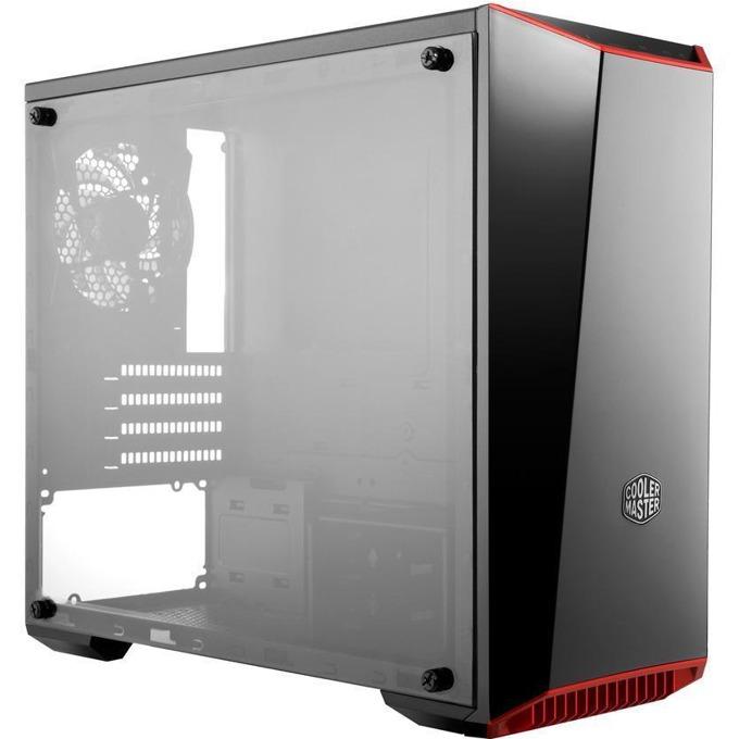 Кутия Cooler Master MasterBox Lite 3.1, micro ATX/mini-ITX, 1x USB 3.0, 1 x USB 2.0, прозорец, черна, без захранване image