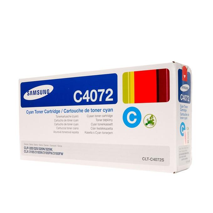 КАСЕТА ЗА SAMSUNG CLP320/320N/325/CLX 3185 - Cyan - P№ CLT-C4072S - заб.: 1000k image