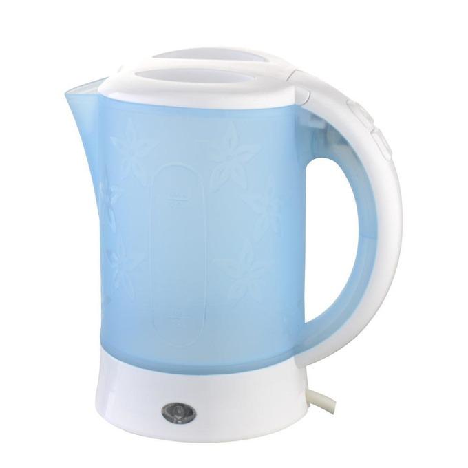 Електрическа кана SAPIR SP 1230 TC, вместимост 0.6 литра, 2 чашки, туристическа, 600 W, син image