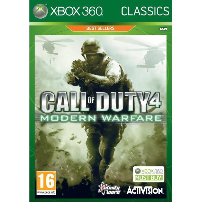 Игра за конзола Call of Duty 4: Modern Warfare - Classics, за XBOX360 image