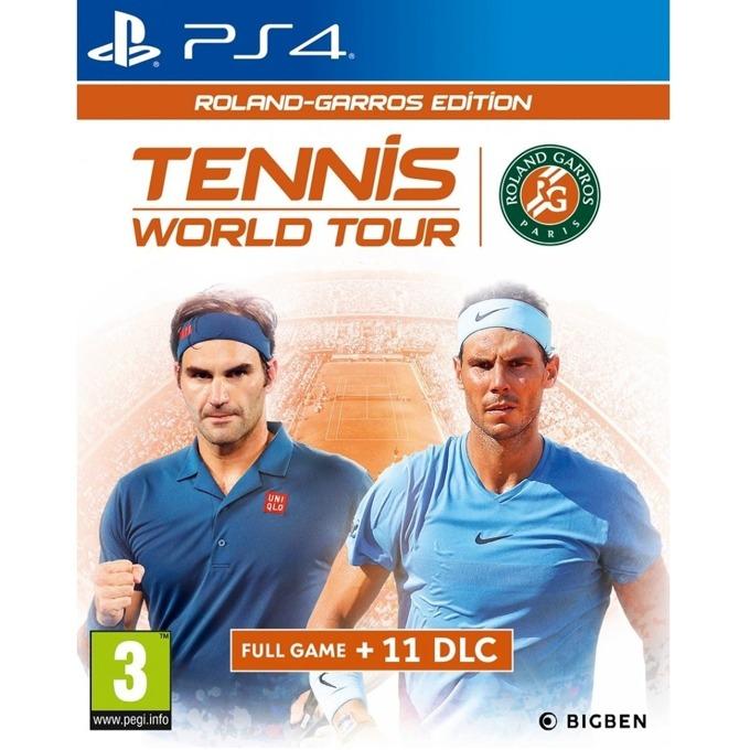 Игра за конзола Tennis World Tour - Roland-Garros Edition, за PS4 image