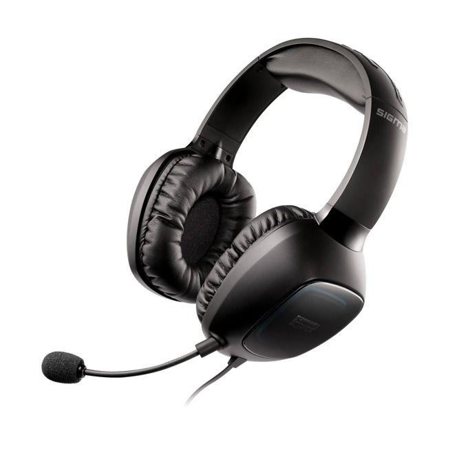 Слушалки Creative SOUND BLASTER TACTIC 3D SIGMA, микрофон, гейминг, VoiceFX, 3.5мм жак, USB, черни image
