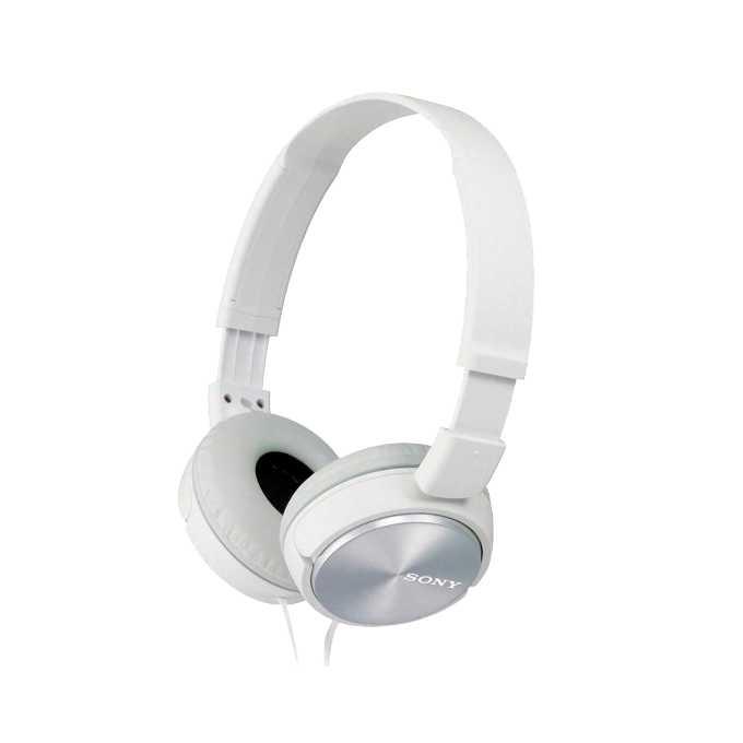 Слушалки Sony MDR-ZX310, бели image