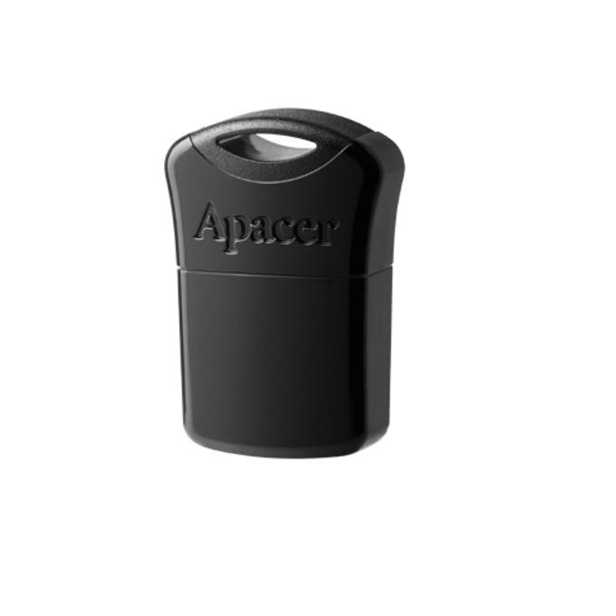 32GB USB Flash Drive, Apacer AH116, Super-mini, USB 2.0, черна image