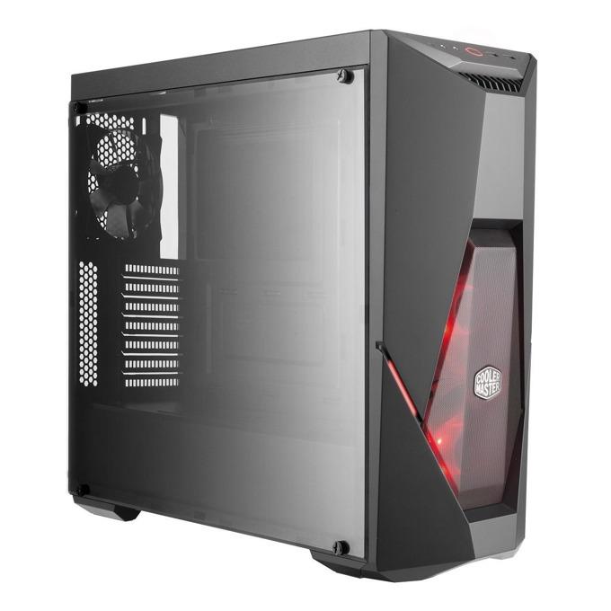 "Настолен компютър PC ""Slayer"", осемядрен AMD Ryzen 7 2700X 3.7/4.3 GHz, Nvidia GeForce RTX 2080 8GB, 16GB DDR4, 2TB HDD & 500GB SSD, 4x USB 3.1, Free DOS  image"