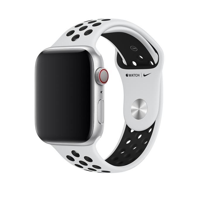Apple 44mm Nike Band:Pure Platinum/Black Nike Spor product