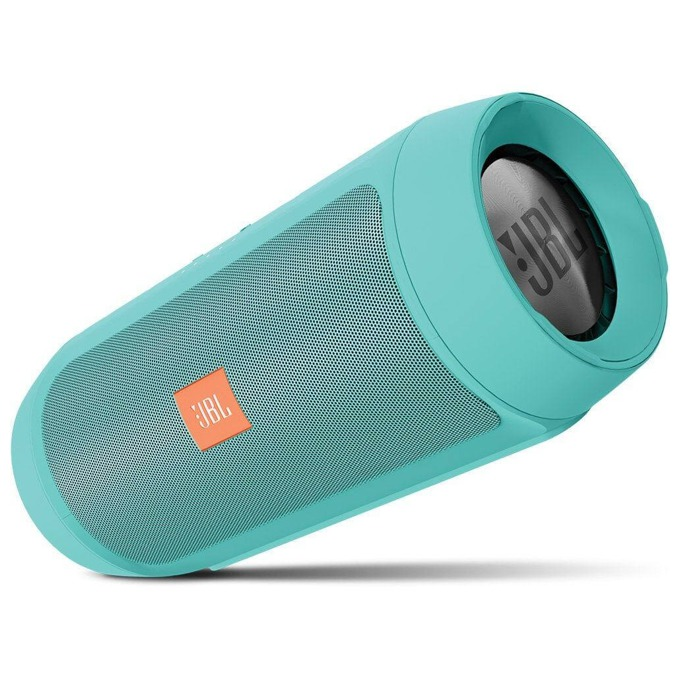 Тонколона JBL Charge 2 Plus Wireless, 2.0, 15W RMS, 3.5mm jack/Bluetooth, зелена, до 12 часа работа image
