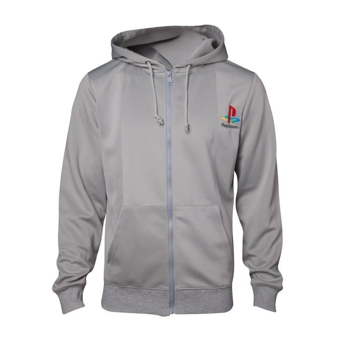 Суитшърт Playstation 1 hoodie, размер M, сив image