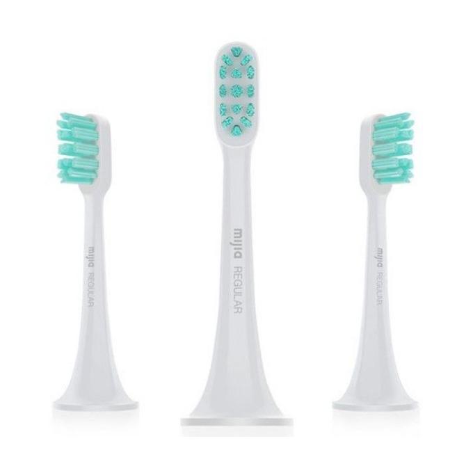 Резервна глава Xiaomi Mi Electric Toothbrush Head (Regular), съвместима с Xiaomi Mi Electric Toothbrush, 3 бр. image