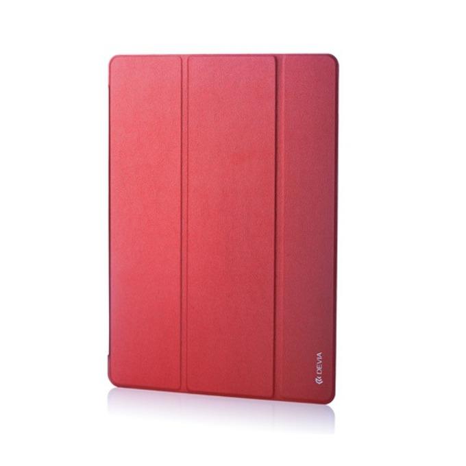 """Калъф /тип бележник/ за таблет Apple iPad PRO, до 12.9"""" (32.76 cm), еко кожа, червен  image"""