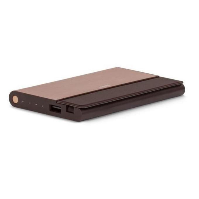 Външна батерия/power bank/ Moshi IonBank 5K External Battery 5150mAh, бронз image