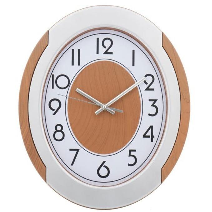 Часовник KingHoff KH-5016, аналогово указание, бял image