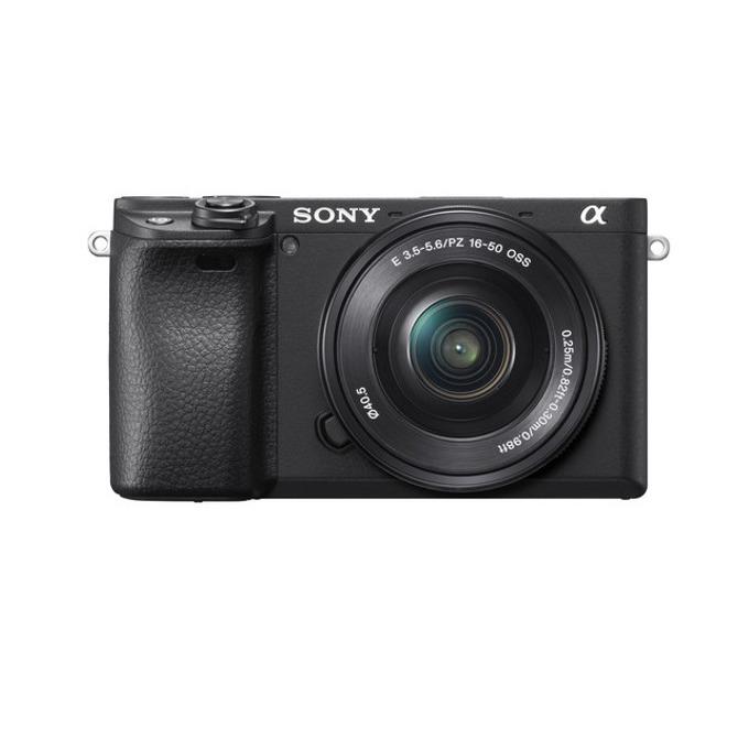 "Фотоапарат Sony A6400(черен), 24 Мpix, 3"" (7.5 cm) TFT дисплей, Wi-Fi, Bluetooth, microUSB, microHDMI image"