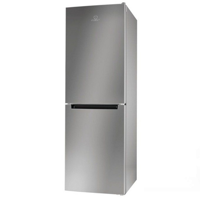 Хладилник с фризер Indesit LR7S1X, клас A+, 307 л. общ обем, свободностоящ, 297 kWh/годишно, инокс image