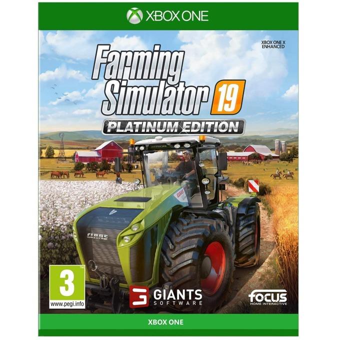Игра за конзола Farming Simulator 19 - Platinum Edition, за Xbox One image