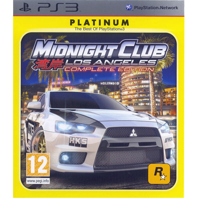 Игра за конзола Midnight Club LA Complete Edition (Platinum), за PlayStation 3 image