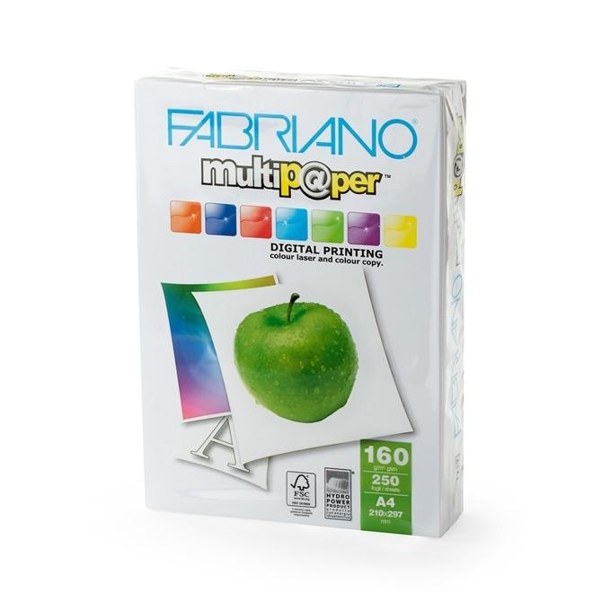 Fabriano Multipaper, A4, 160 g/m2, 250 листа product