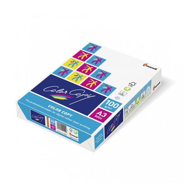 Хартия, Mondi Color Copy, A3, 100 g/m2, 500 листа image