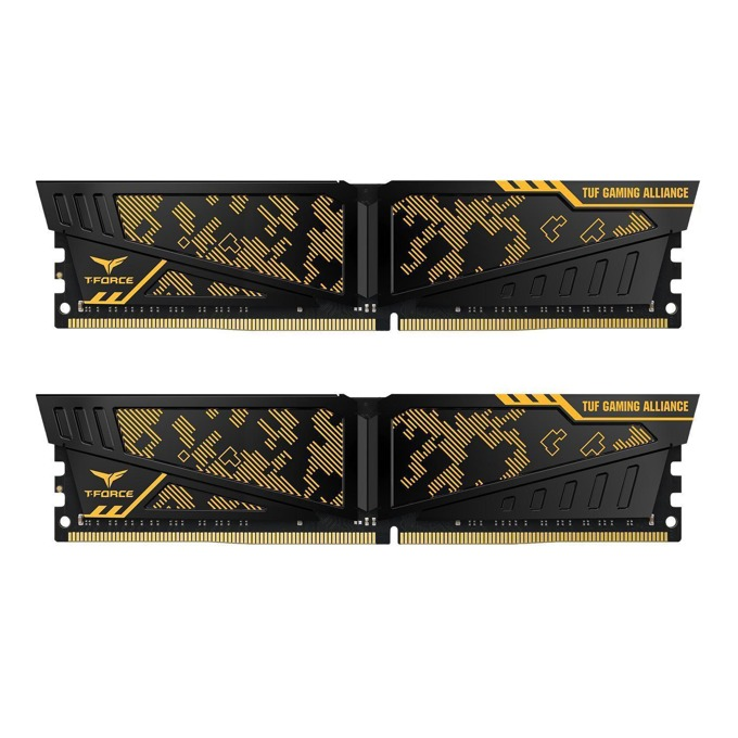 32GB (2x16GB) DDR4 3000MHz, Team Group Vulcan TUF, TLTYD432G3000HC16CDC01, 1.35V image