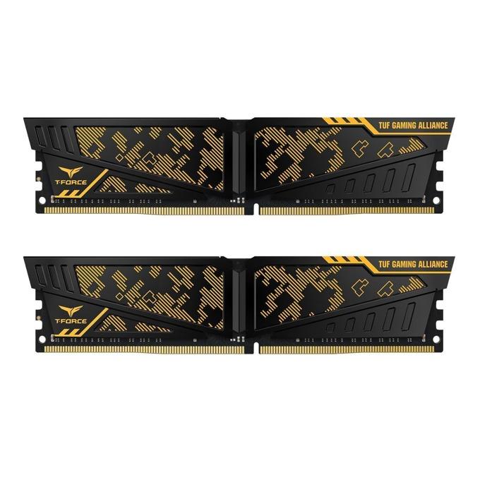 32GB (2x16GB) DDR4 3000MHz, Team Group Vulcan TUF, TLTYD432G3000HC16CDC01, 1.35V image