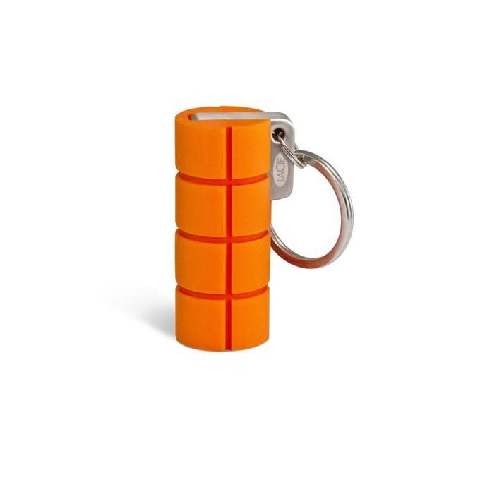 Памет 16GB USB Flash Drive, LaCie Rugged Key, USB 3.0, удароустойчива, оранжева image