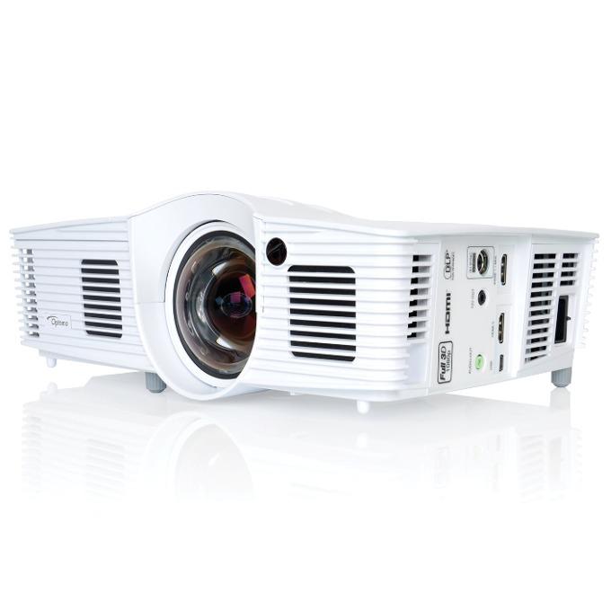 Проектор Optoma GT1070Xe, DLP, 3D Ready, Full HD (1920x1080), 23 000:1, 2800 lm, 2x HDMI, 1x USB miniB image